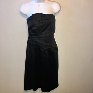 WHBM Little Black Dress Strapless Size 10